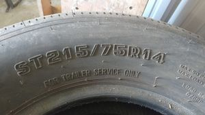 Trailer tires 215/75R14 for Sale in Waxahachie, TX