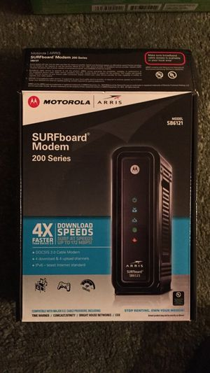 Motorola Surfboard cable modem and wireless router $50 for Sale in Queens, NY