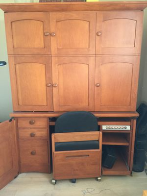 Home Office Armoire for Sale in La Jolla, CA