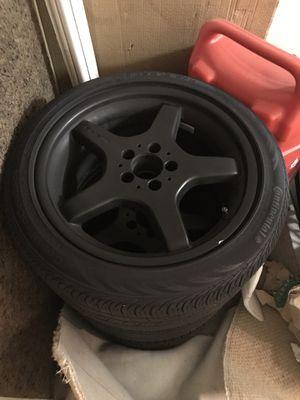 SL AMG mercedes wheels black series 18 for Sale in San Rafael, CA