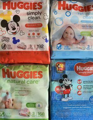 Huggies baby wipes 3 pack for Sale in Lehigh Acres, FL