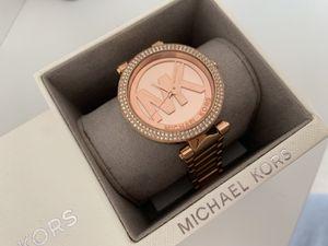 Michael Kors women's Parker rose-gold tone logo watch MK5865 for Sale in Rockville, MD