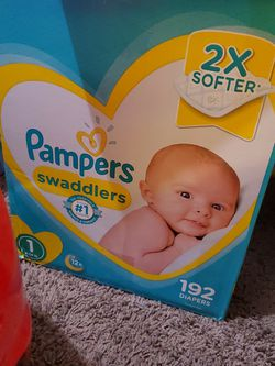 Pampers Swaddlers Size 1 for Sale in Richmond,  CA