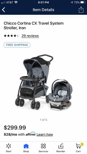 Chico Keyfit 30 Travel System. Stroller Car seat and Car seat base for Sale in Clarksville, TN