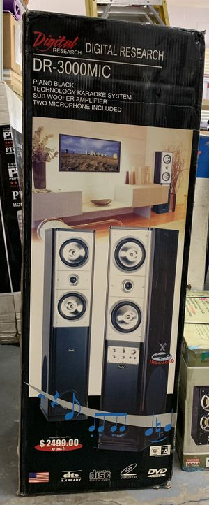 Digital Research karaoke System for Sale in Winter Springs, FL