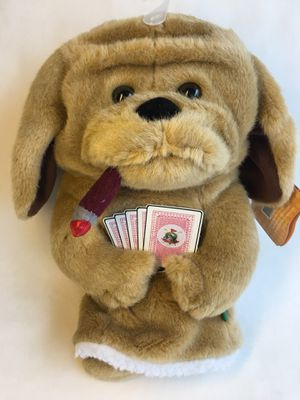 NEW Golf club cover Cigar Smoking Poker Player Bull dog cards by Winning Edge Designs Card Shark Smoker Pup for Sale in Boca Raton, FL