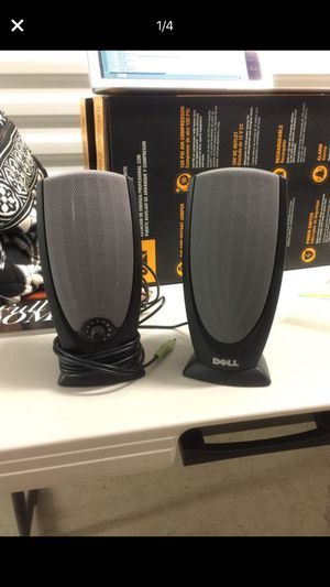 Dell Black multimedia Computer Speakers for Sale in Kirkland, WA