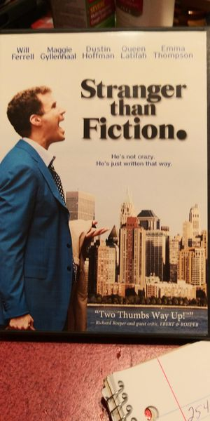 Stranger than Fiction dvd for Sale in Brainerd, MN