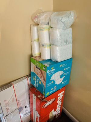 Pamper and huggies for Sale in Philadelphia, PA