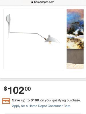 NEW Swing wall lamp for Sale in Bellevue, WA