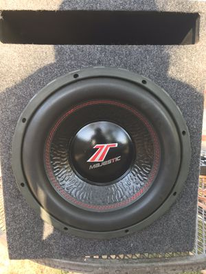 12 inch subwoofer and amp for Sale in Phoenix, AZ