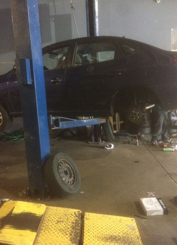 Alignment,brakes,wipers,batteries and tires
