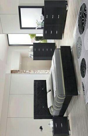 [HOT DEAL] Brahma Black Panel Bedroom Set   BR1235 for Sale in Houston, TX