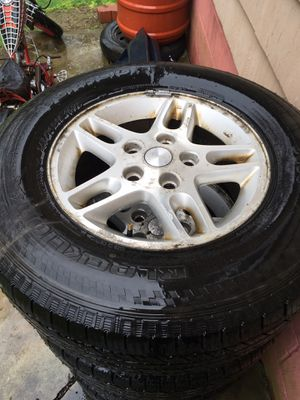 245/70r16 Jeep wheels and tires for Sale in Fall River, MA