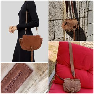 SEE BY CHLOÉ Collins Suede Crossbody Bag for Sale in Phoenix, AZ