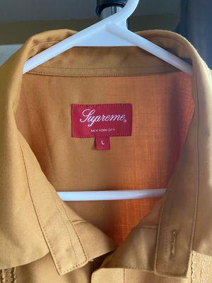 Supreme Gold Indo Shirt for Sale in Nashville, TN