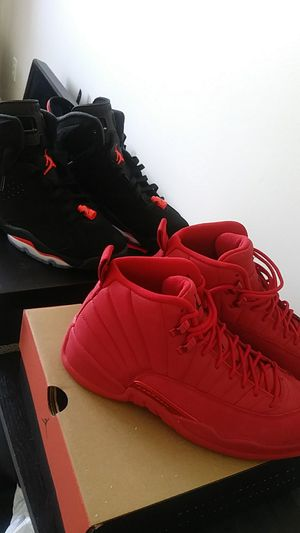 Jordan 12s & Inferred 6s size 9.5 for Sale in Marlborough, MA