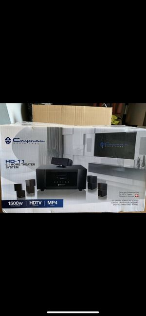 Home Theater Stereo Speaker System for Sale in Pasadena, MD