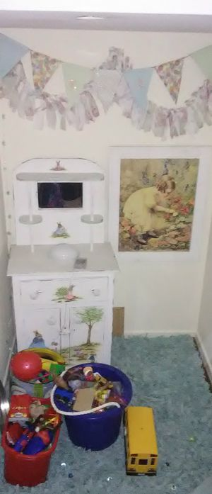 Handpainted Child's Cabinet for Sale in Beaumont, CA
