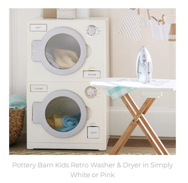 Pottery Barn Kids Retro Washer Dryer