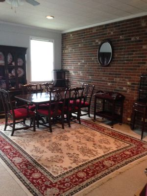 Sell as a set or individually- 14 pc Ethan Allen dining room set for Sale in Garfield, GA