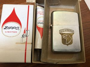 Zippo 101st airborne lighter rebuilt by the company for Sale in Plainfield, IL