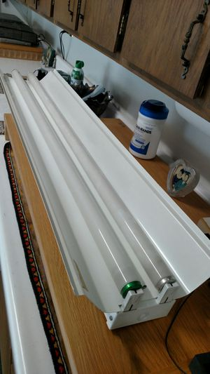 Two Bulb Fluorescent Strips w Reflectors for Sale in Lakewood, CO