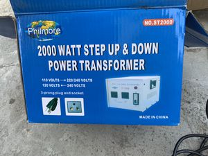 Step up & down transformer for Sale in Bell, CA