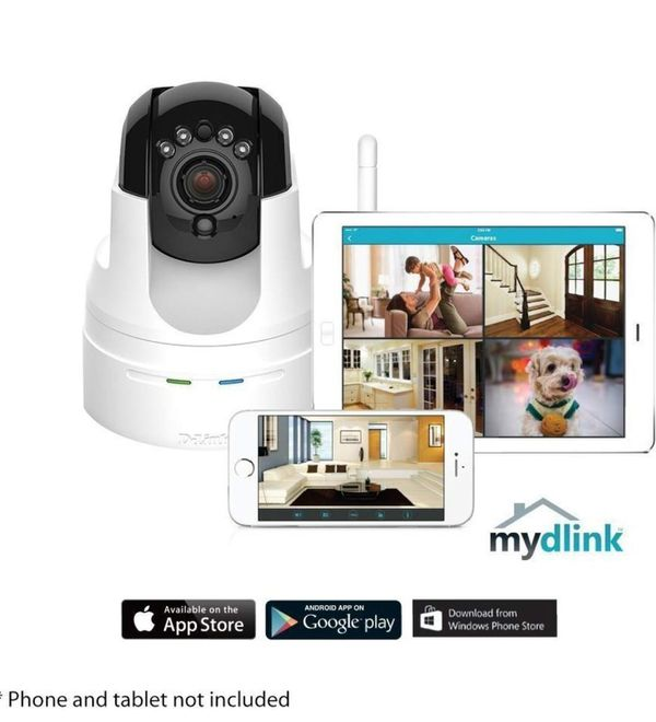 D-Link Day/Night Camera (Home/Office Monitoring)