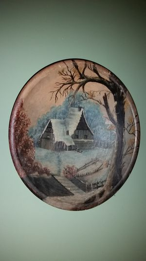 Wooden bowl art. for Sale in Sunbury, OH