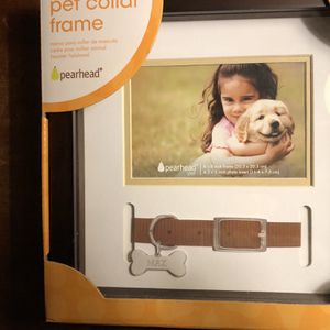 Memorial pet Collar Frame/ Shadow box to Remember Your Pet Fur Baby... New In Box for Sale in Orlando, FL