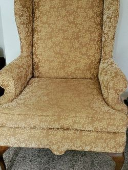 Upholstered Wingback Chair for Sale in Edgewood,  WA