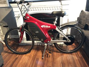 Custom built EVG eBike SX model with new 1500watt motor and 54v lithium battery electric bicycle FAST Bike! for Sale in Garden Grove, CA