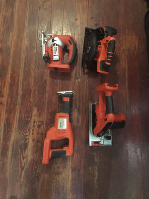Black and decker firestorm power tools! 24 volts Like New just needs battery for Sale in Murfreesboro, TN
