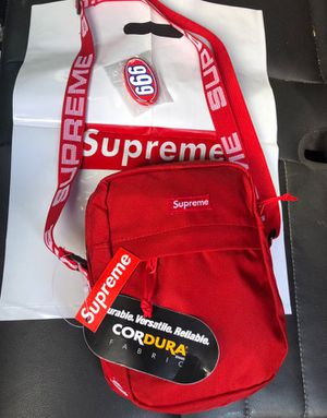 Supreme (SS18) shoulder bag red for Sale in San Francisco, CA
