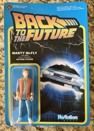 Collectible FUNKO ReAction Back to the Future Marty McFly action figure for Sale in Miami, FL