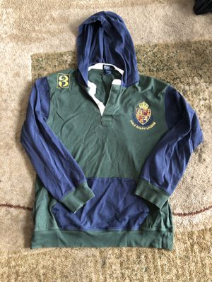 Polo Ralph Lauren - rugby / hoodie / jacket Size S-M men for Sale in Washington, DC
