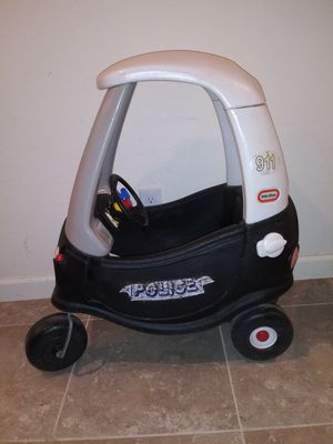Child's Cozy coupe police car toy for Sale in Chandler, AZ
