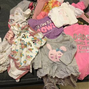 Lot Of Baby Girls Clothes for Sale in West Carson, CA