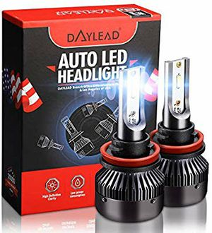 Pack of 2 H11 LED Headlight Bulbs for Sale in San Antonio, TX