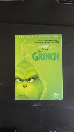 Dr. Seuss The Grinch Oscar Version DVD for Sale in Victorville, CA