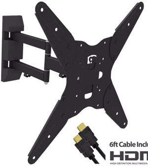 New Full Motion TV Wall mount 17-55 inches with articulating arm for Sale in Chino, CA