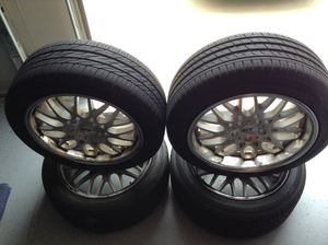 Mustang Wheels Staggered for Sale in Morrow, GA