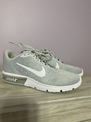 New never worn before ,Nikes shoes, usually $94-$169 on amazon. Discontinued on {url removed}. Suede, suede sole, athletic running shoe. for Sale in St. Peters, MO