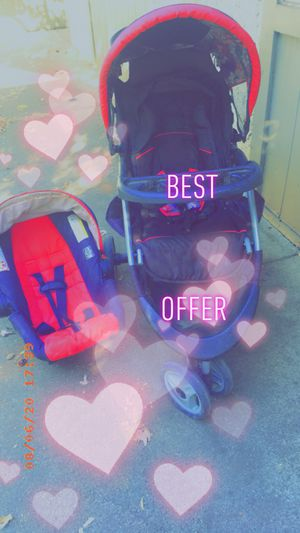 Stylish Car seat & Stroller for Sale in Chico, CA