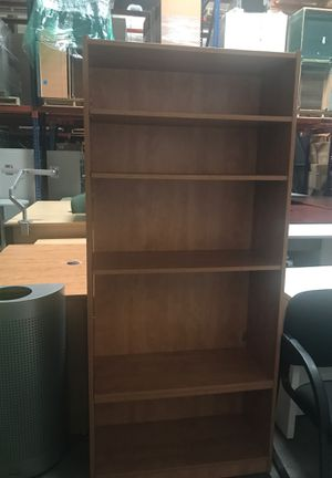 Office Furniture L-shape Desk with Bookshelve for Sale in Ontario, CA