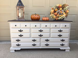 Farmhouse Style Dresser/TV Stand/Media Stand/Buffet Table/Side Table/Entry Table for Sale in Denair, CA