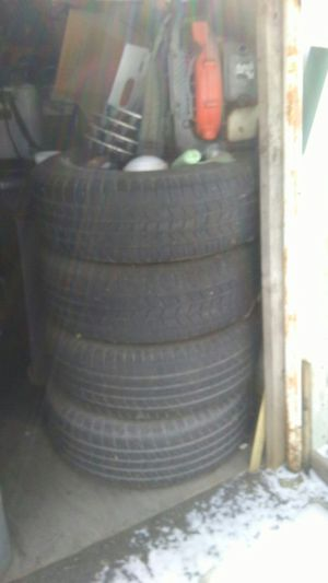 Used 17 inches chevy tires 6 holes for Sale in Oak Forest, IL