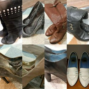 Lot of 8 pairs of Womens shoes Size 8, 8.5 & 9. for Sale in Woodinville, WA