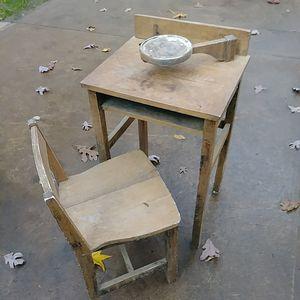 Kids antique school desk for Sale in Snellville, GA